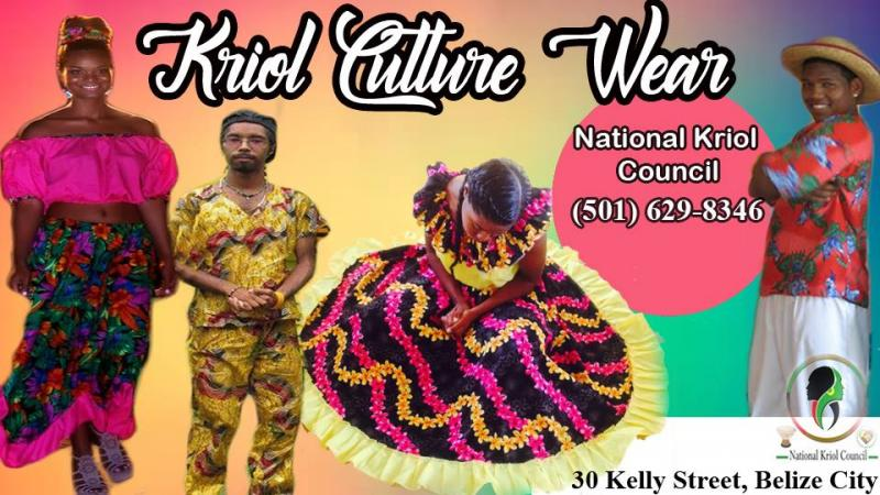 Kriol Cultural Wear Rental
